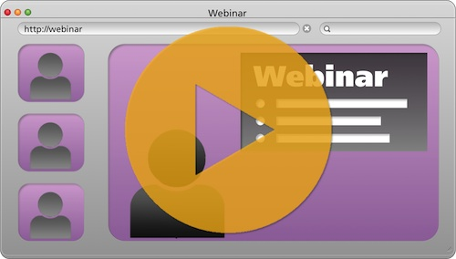 Videos extend the life of Webinar Powerpoint presentations
