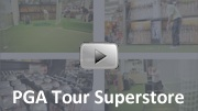 PGA Tour Superstore online/offline concept created by Digital Dazzle